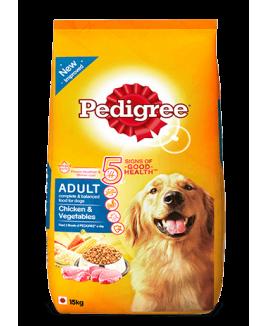 Pedigree Adult Dog Food Chicken and Vegetables 15kg