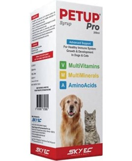 PETUP Syrup Pet Health Supplements 200ml