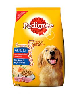 Pedigree Adult Dog Food Chicken & Vegetables 20kg