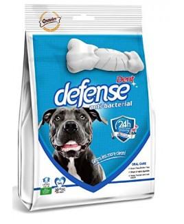 Gnawlers Dent Defense Anti Bacterial, Dental Chew Bone for Dogs Medium, 525 g