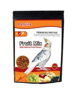 Petslife Fruitmix Medium Food 1kg