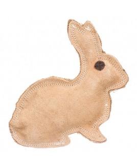 Dog Leather Toy Rabbit