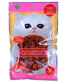 Cataholic Chicken & Salmon & Fish Cubes 80g