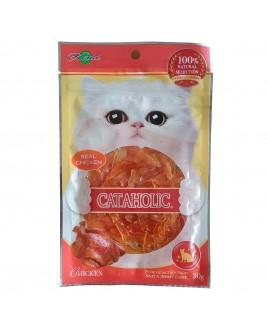 Cataholic Soft Chicken Jerky Sliced 30g