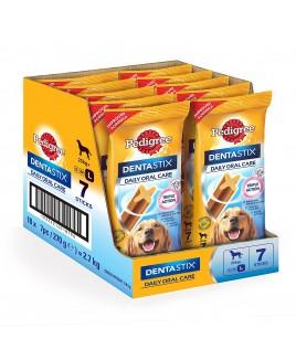 Pedigree DentaStix Daily Oral Care for Large Dog of 25 kg, 270 g, Pack of 10 (Total 10 x 7 Sticks)
