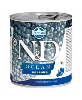 Farmina N&D Ocean - Wet Dog Food - Cod Fish & Pumpkin - 285 g