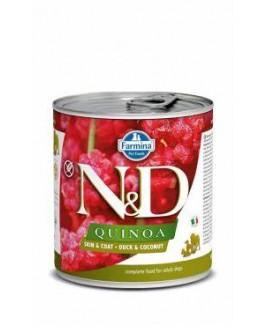 FARMINA N&D Quinoa Dog Wet Food, Grain-Free, Adult Mini Breed, 285g