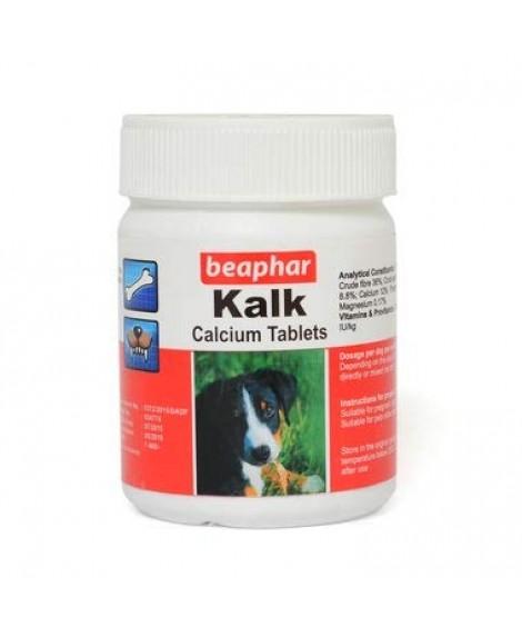 Beaphar Kalk Calcium Tablets for Dog (160 Tab)