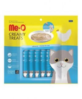 Me-O Creamy Treats With Chicken & Liver Flavor 300g
