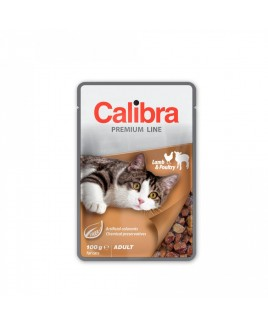 Calibra Cat Premium Adult Lamb & Poultry 100g