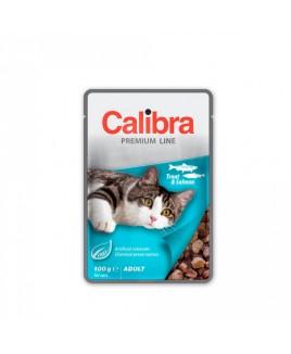 Calibra Cat Premium Adult Trout & Salmon 100g