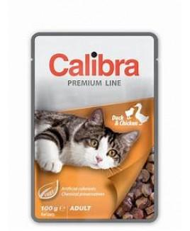 Calibra Cat Premium Adult Duck & Chicken 100g
