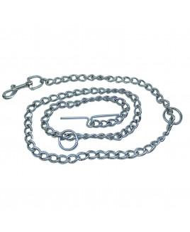 Dog Chain With Zinc Hook (No 12) 5Feet