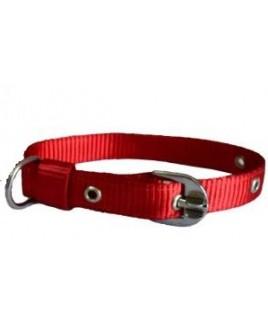 Nylon Collar Red -Small