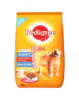Pedigree Puppy Meat and Milk Dry   20kg