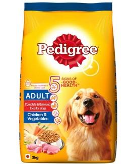 Pedigree Adult chicken & Vegetables 3 kg